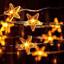 outdoor christmas lights stars wholesale 3m led copper wire light star flower snow chrismas light