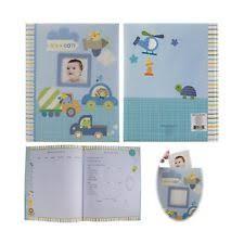 baby boy memory book stepping stones b is for baby boy memory book brand blue ebay