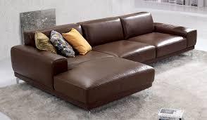 Saddle Brown Leather Sofa Photo Of Leather Corner Sofa With Bronx Designer Leather Corner