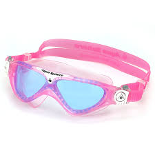 compare prices on nose goggles aqua sphere vista junior goggle blue tinted lens pink one