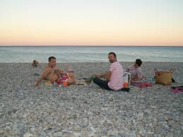 russian beaches how to enjoy pebble beaches on the french riviera the lou