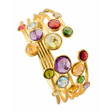 multi colored gold bracelet images Liljenquist beckstead fine jewelry from leading brands png