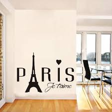 Modern Wall Stickers For Living Room Compare Prices On Paris Room Decor Online Shopping Buy Low Price