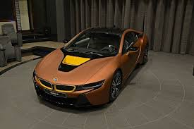 scorpio u0027s garage what do you think of this brown and yellow bmw i8