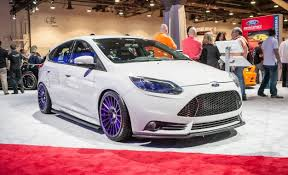 2013 ford focus st upgrades cancel sema ford s lotus and gulf liveried focus sts are the