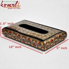 decorative tissue box tissue holder luxury kashmiri paper mache decorative tissue box