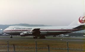 Japan Airlines Route Map by Japan Airlines Flight 123 Wikipedia