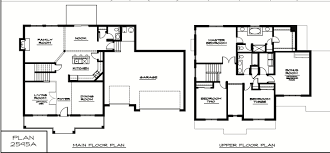 Two Family House Plans Floor Plans With Dimensions Two Storey 2 Story Home Floor Plans