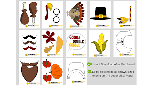 thanksgiving props printable thanksgiving photo booth props printableoffers