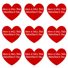 best photos of printable valentine hearts label printable