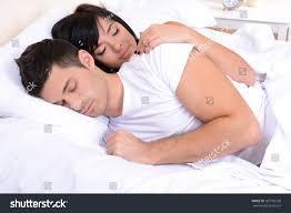 couple love sleeping bed stock photo 167782100 shutterstock couple in love sleeping in bed