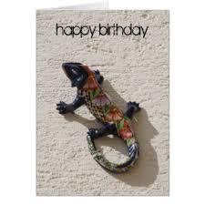 lizard birthday cards u0026 invitations zazzle co uk