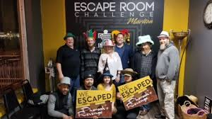 Challenge In Motion Pro Motion Team Takes On Pharaoh S At The Escape Room