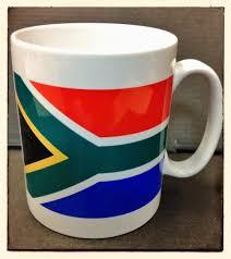 Ceramic Coffee Mugs South African Flag Ceramic Coffee Mug Your Sa Shop In The Uk