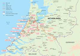 netherlands map cities cycling in the netherlands an overview map showing the routes
