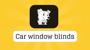 car window blinds youtube