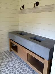 customized concrete bathroom sinks and vanities scottsdale az