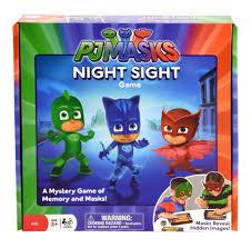 pj masks night sight mystery game toys