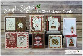 simple stories classic christmas cards u2013 sue u0027s creative workshop