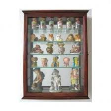 Curio Cabinet With Glass Doors Table Top Curio Cabinet Foter