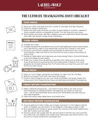 what can you make the day before thanksgiving the ultimate thanksgiving host checklist