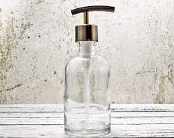 Hand Soap Dispensers Farmhouse Bathroom Decor Glass Soap