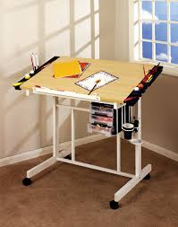 Artist Drafting Tables Studio Designs 13251 Deluxe Craft Station White Maple