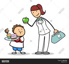 cartoon dentist recommending apple image u0026 photo bigstock