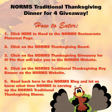 traditional thanksgiving dinner norms restaurants best family