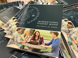 ufficio guide information materials universit罌 degli studi di siena