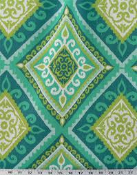 Indoor Outdoor Fabric For Upholstery Terrasol Spanish Tile Peacock Indoor Outdoor Best Fabric