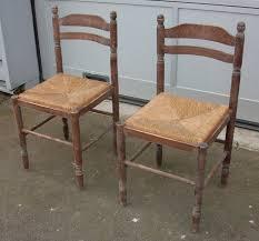 chaises paill es relooker une chaise en paille les cr ations de of relooker une