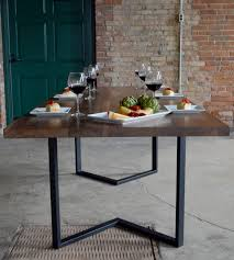 metal frame for table top irvine dining table solid 1 34 table top shown in with metal table