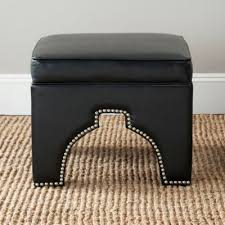 Faux Leather Ottoman Buy Faux Leather Ottoman From Bed Bath U0026 Beyond