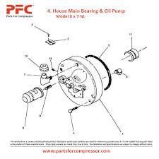 07 4 house main bearing u0026 minyak pompa untuk ingersoll rand