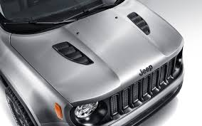 matte white jeep jeep renegade hard steel concept gear heads