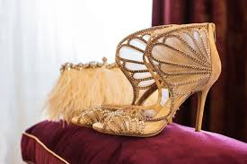 wedding shoes jeweled heels wedding shoes in every color of the rainbow inside weddings