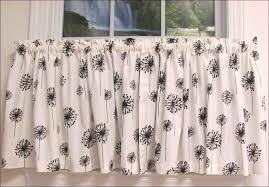 Sunflower Valance Curtains Kitchen Sunflower Valance Tie Up Curtains Kitchen Window Drapes