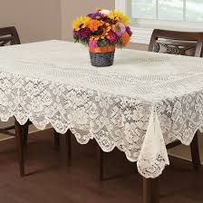 Vinyl Table Cover 70 Inch Round Lace Tablecloth Round Designs