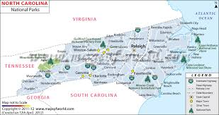 North Carolina National Parks images North carolina national parks map national parks in north carolina jpg