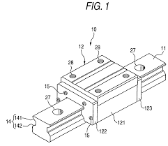 patent us20040190801 separator linear guide using the separator