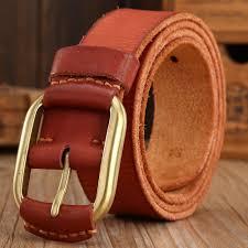 2017 designer belts men high quality brown luxury 100 real
