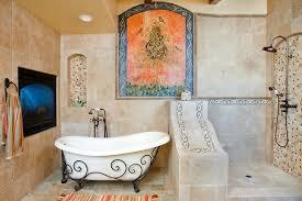 mediterranean bathroom ideas wrought iron kitchen decor bathroom mediterranean with beige tile
