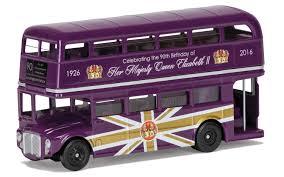 corgi 1 64 the queen u0027s 90th birthday routemaster model cc82326