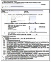 rental agreement form sample 9 examples in word pdf