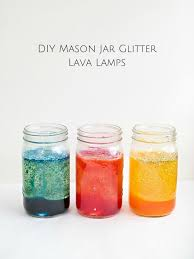 make easy lava lamps with mason jars a fun science experiment for