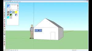 basic house sketchup basic house tutorial youtube