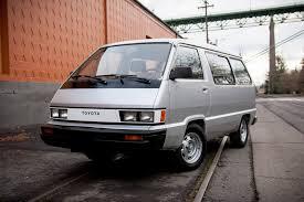 van toyota 1985 toyota van 2wd gas automatic u2014 vanlife northwest