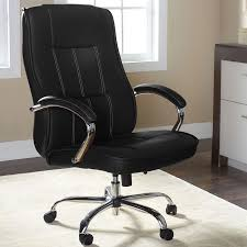 Desk Chair Leather Design Ideas Picturesque Plus Size Office Chairs Chair Cryomats Modern