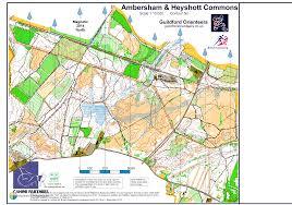 maps ta ambersham level c december 1st 2013 orienteering map from
